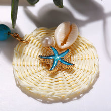 Load image into Gallery viewer, Starfish Woven Earrings Online