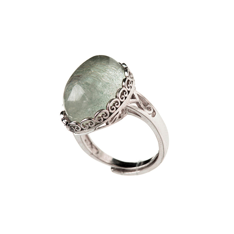 Natural Green Ghost Rings
