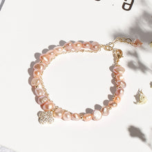 Load image into Gallery viewer, Pink Freshwater Pearl Bracelet