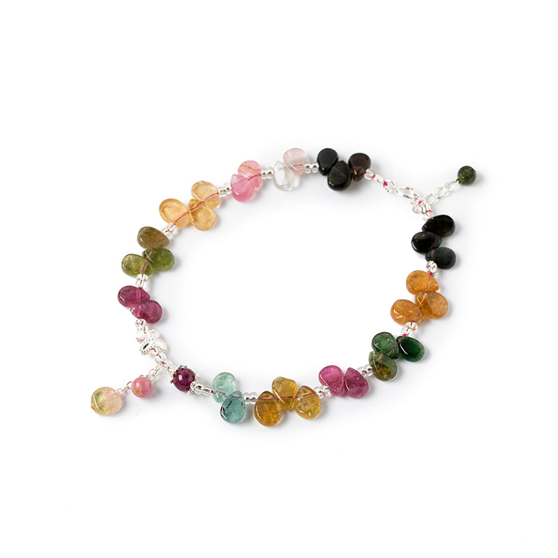 Tourmaline Water Drop Bracelet-1