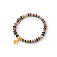 Load image into Gallery viewer, Tourmaile Round Bracelet