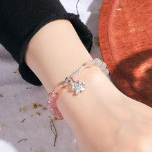 Load image into Gallery viewer, Strawberry Crystal Gray Moonlight Bracelet