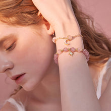 Load image into Gallery viewer, Pink Star Strawberry Bracelets