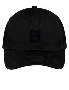 Black Hat with Black Logo