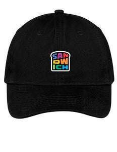 Black Hat with Rainbow Logo