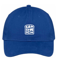 Royal Blue Hat with White Logo