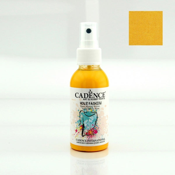 Your Fashion Spray Fabric Paints - Sunshine - 100 ML