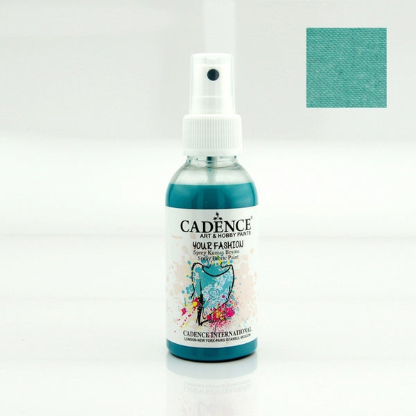 Your Fashion Spray Fabric Paints - Turquoise- 100 ML