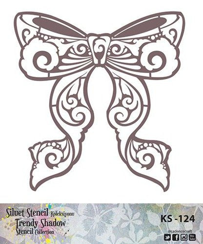 TRENDY SHADOW Stencil - KS-124