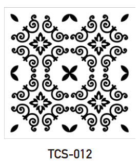 TCS-012 - Tile Stencil Collection