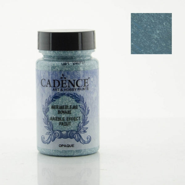 Marble effect Paint  - Turquoise -90 ML