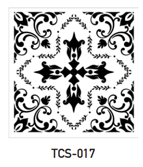 TCS-017 - Tile Stencil Collection
