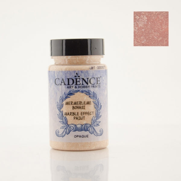 Marble effect Paint  - Dark Salmon Pink -90 ML