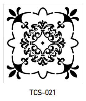 TCS-021 - Tile Stencil Collection
