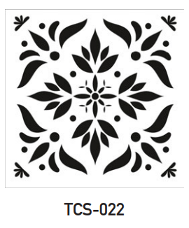 TCS-022- Tile Stencil Collection