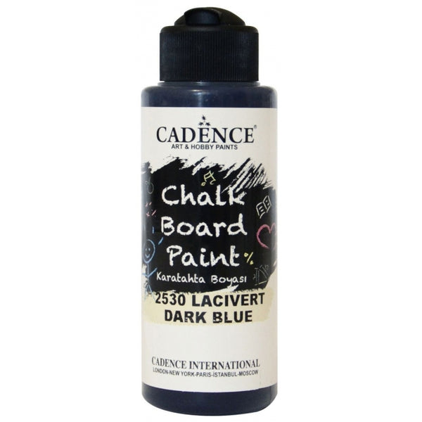Chalkboard paint - Dark blue -120 ML