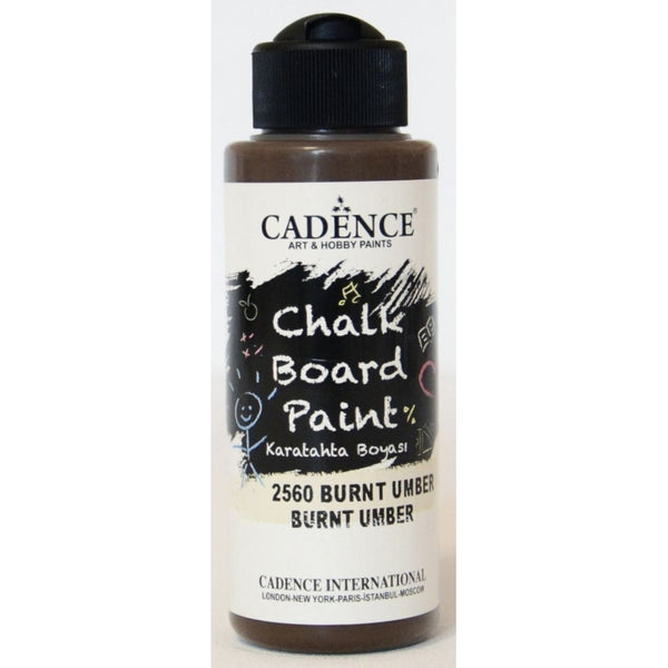 Chalkboard paint - Burnt umber -120 ML