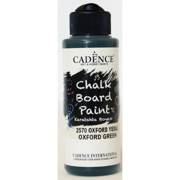 Chalkboard paint - Oxford green -120 ML