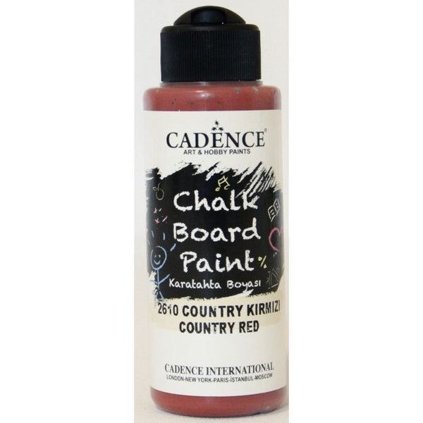 Chalkboard paint - Country red -120 ML