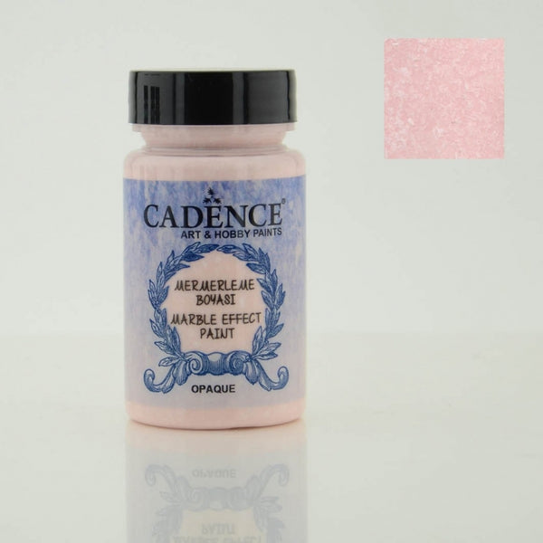 Marble effect Paint  -Pink -90 ML