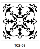 TCS-03- Tile Stencil Collection