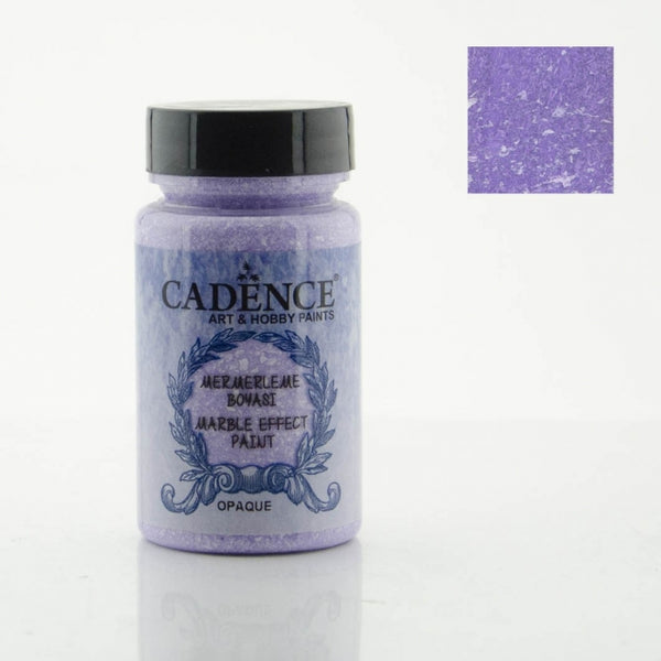 Marble effect Paint - Purple -90 ML