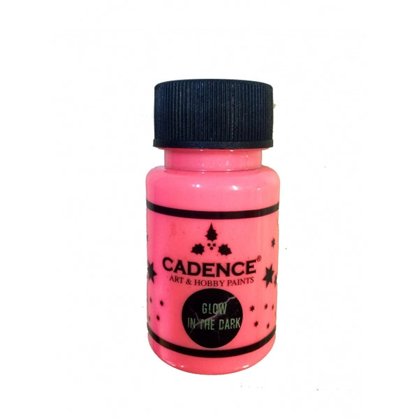 Glow in the dark -Pink - 50 ML