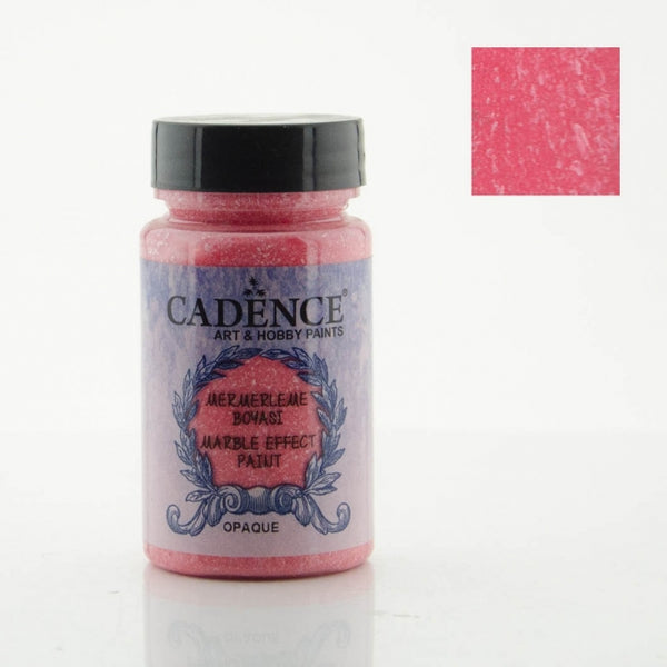 Marble effect Paint - Red -90 ML