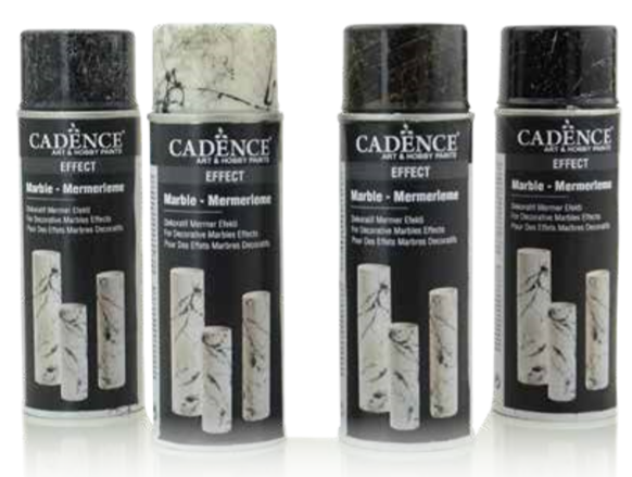 Marble Spray Paint  - Black- 200 ML