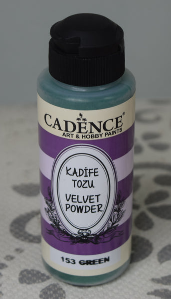 Velvet Powder - green	- 120 ML