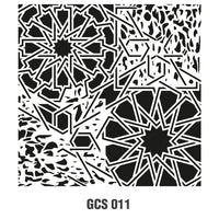 Grunch Wall Stencil Collection |GCS011|45*45cm