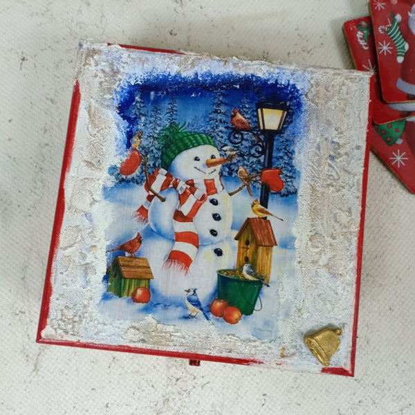 Snow Man Box | Xmas Accessories