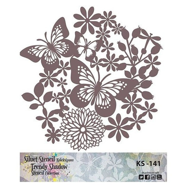TRENDY SHADOW Stencil - KS-141