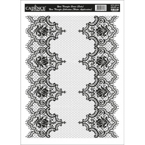 LACE TRANSFER WHITE