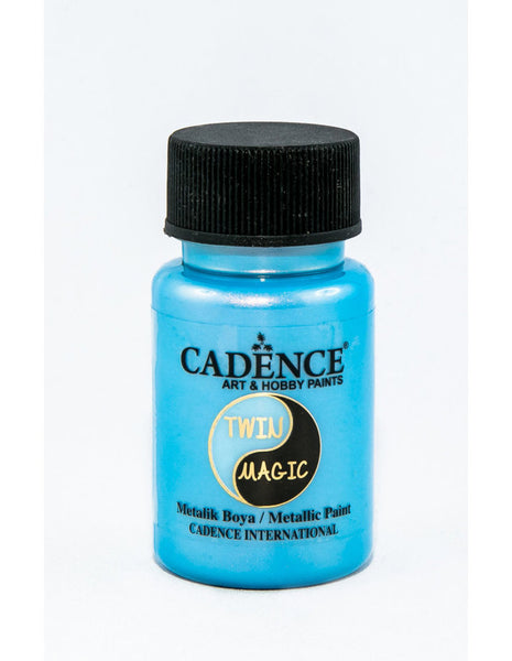TWIN MAGIC METALLIC PAINTS  - Orange Blue - 50 ML