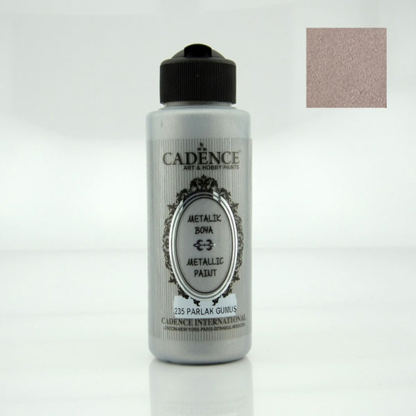 Metallic Paint -Shiny Silver- 120 ML