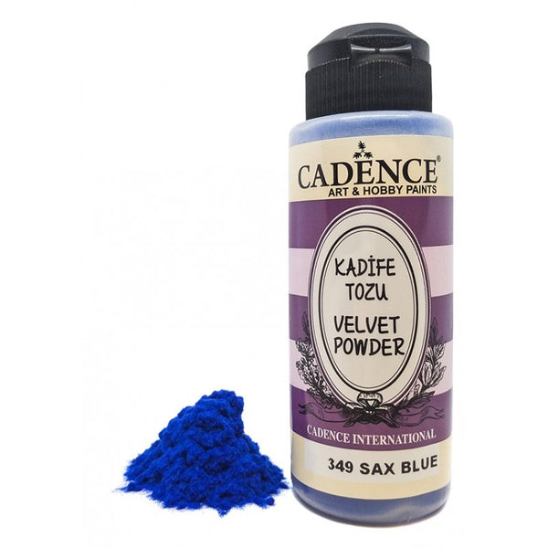 Velvet Powder - Sax Blue- 120 ML