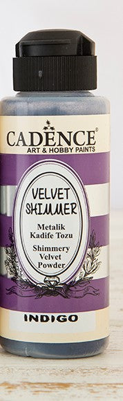 Velvet Shimmer  Powder - Indigo - 120 ML