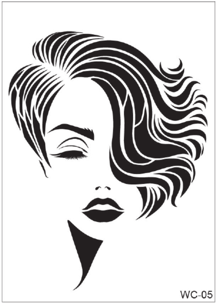 WC-05 Stencil - Women Collection