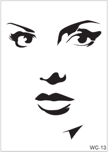 WC-13 Stencil - Women Collection
