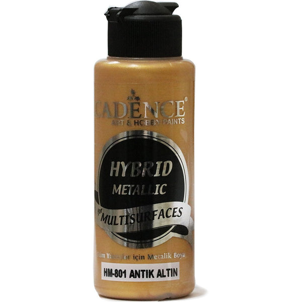 Hybrid Metallic Paint - Antique Gold -70 ML