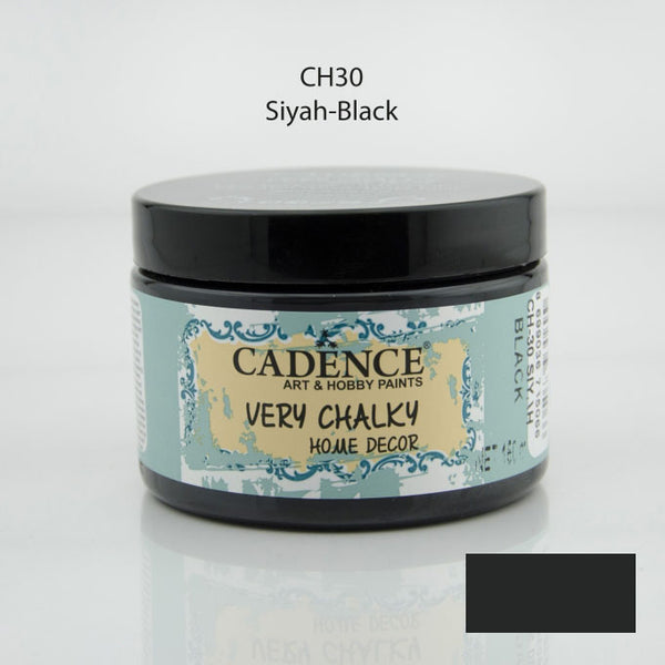 VERY CHALKY HOME DECOR - Black - 150 ML
