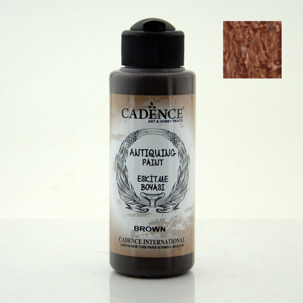 Antiquing Paint - Brown - 120 ML