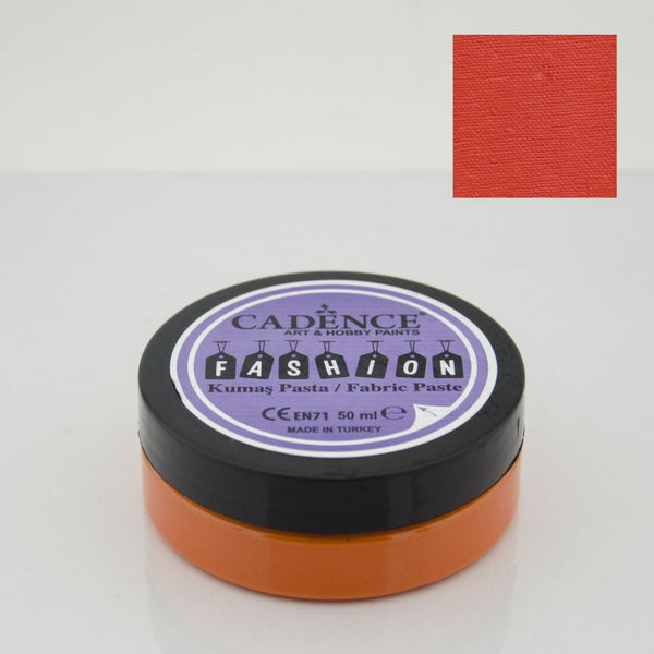 Fashion Fabric Paste Opaque - Orange - 50 ML