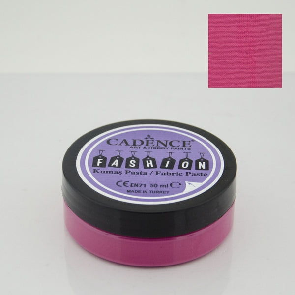 Fashion Fabric Paste Opaque - Fuchsia - 50 ML