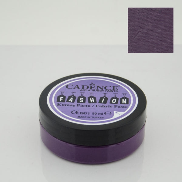 Fashion Fabric Paste Opaque - Aubergine - 50 ML
