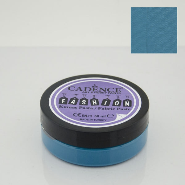 Fashion Fabric Paste Opaque -Turquoise- 50 ML