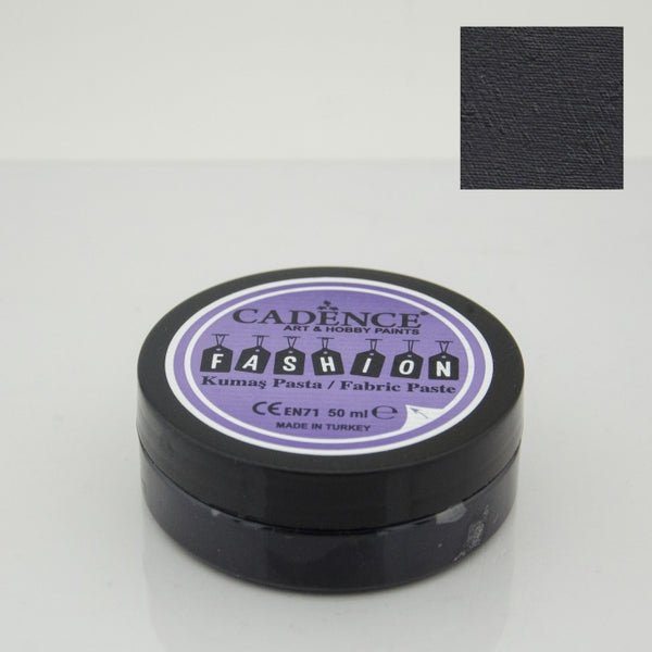 Fashion Fabric Paste Opaque -Black - 50 ML