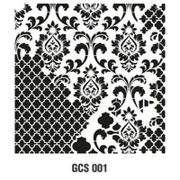 Grunch Wall Stencil Collection |GCS001|45*45cm