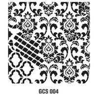 Grunch Wall Stencil Collection |GCS004|25*25cm